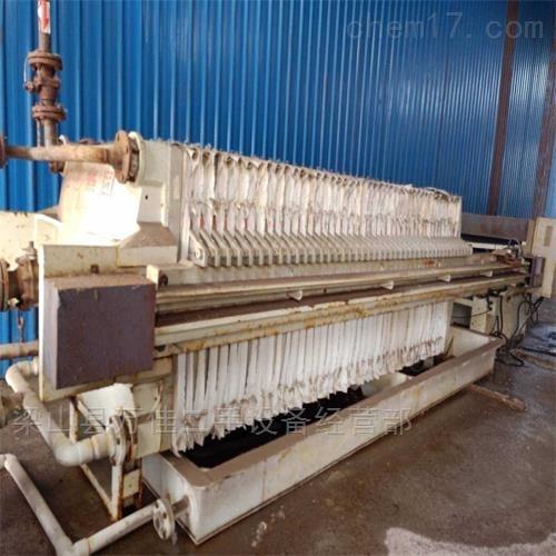 二手海江120平方隔膜压滤机出售