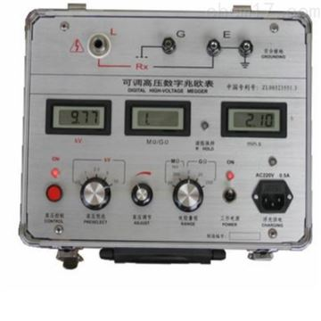 GM系列可调高压数字兆欧表