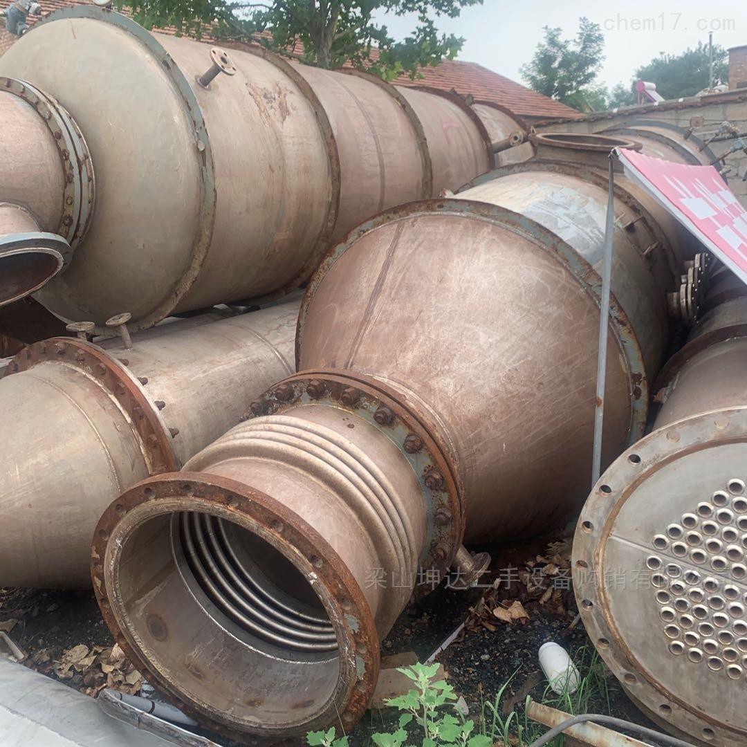 二手钛蒸发器  热泵外加热式双效浓缩器