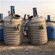 二手蒸汽电加热盘管反应釜出售价格