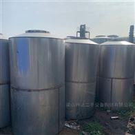 高价回收二手储罐 不锈钢搅拌罐
