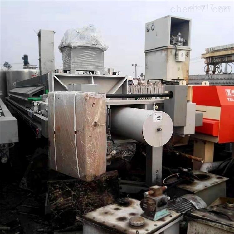 哪里有二手沙场污水处理成套设备二手压滤机
