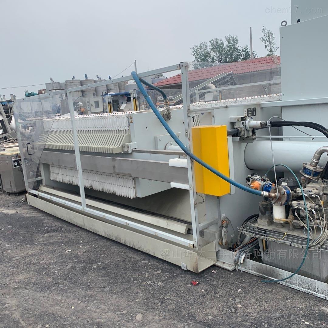 二手德国进口FILOX自动厢式压滤机