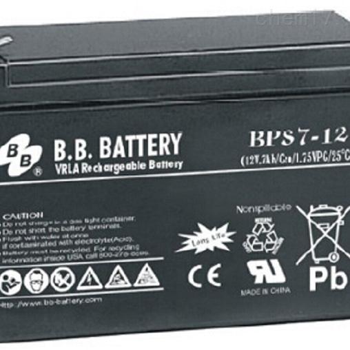 台湾BB蓄电池BPS7-12代理商