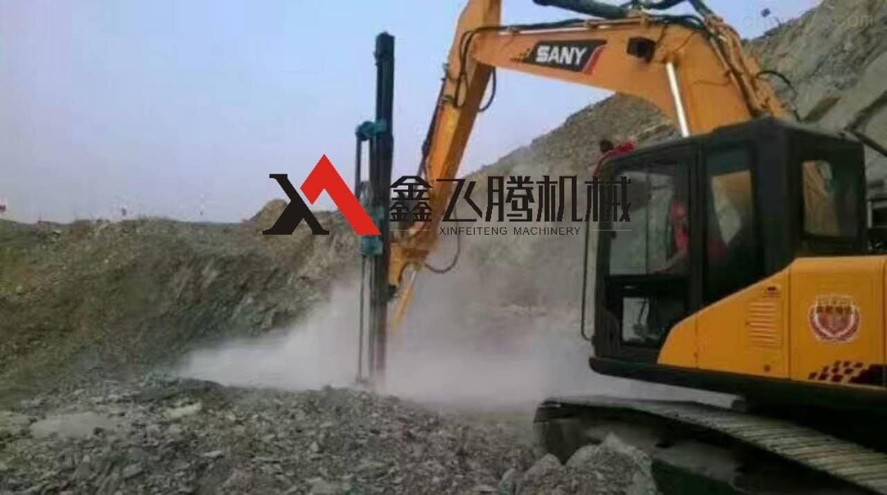 挖改潜孔钻矿山打孔