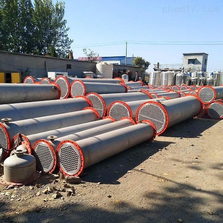 不锈钢二手30平方列管式冷凝器价格