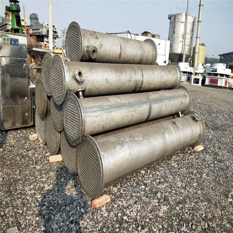 二手不锈钢高压200平方冷凝器价格