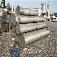 现货供应二手200平方不锈钢列管冷凝器