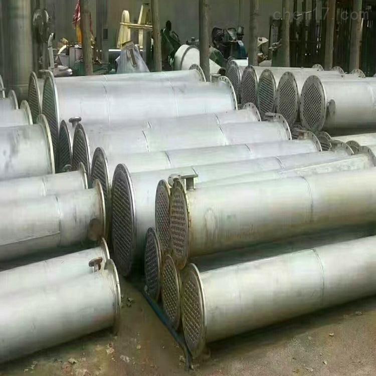 供应二手碳钢搪瓷 高压冷凝器