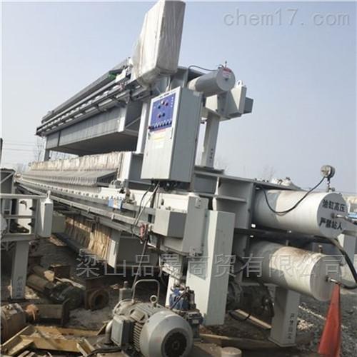 厂家供应二手450平方厢式压滤机