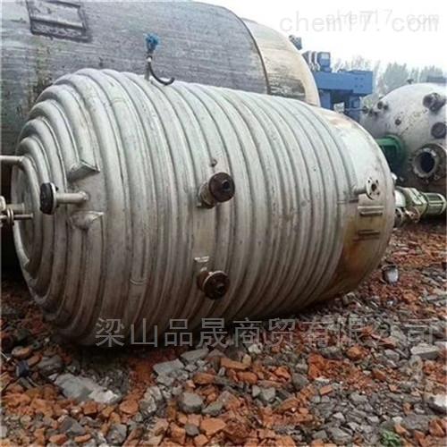 销售9成新10吨高压反应釜内盘管
