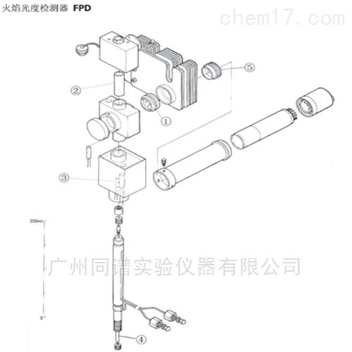 岛津色谱仪GC-14A/B 火焰光度检测器FPD配件