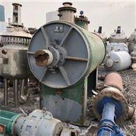 7立方供应二手冰晶石干燥生产线 真空耙式烘干机