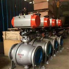 Q647F-16C-300气动固定式球阀