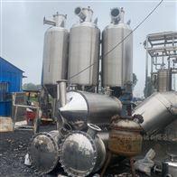 高价回收二手3效多效外循环浓缩蒸发器