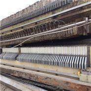 海江200平方自动拉板厢式压滤机到货