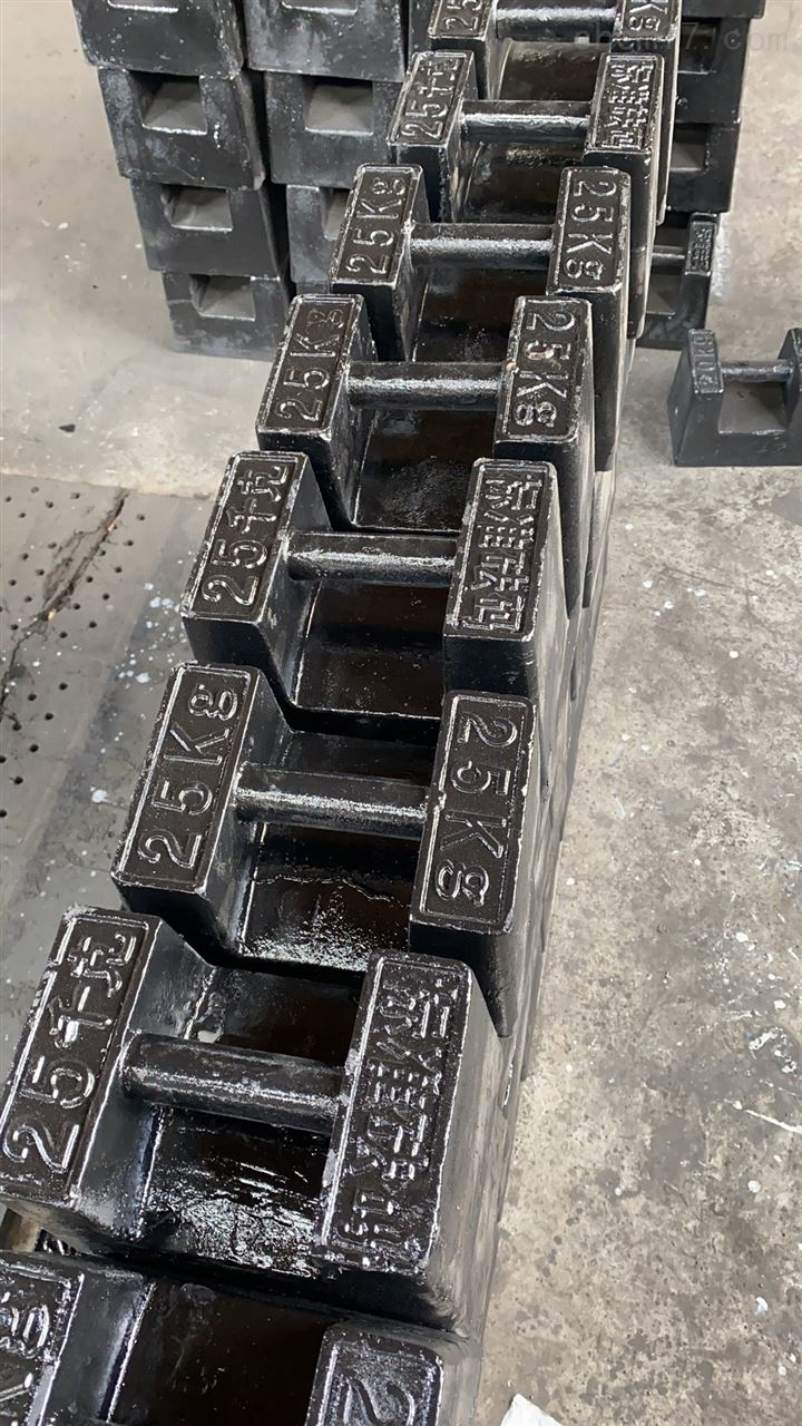 浙江25公斤电梯砝码