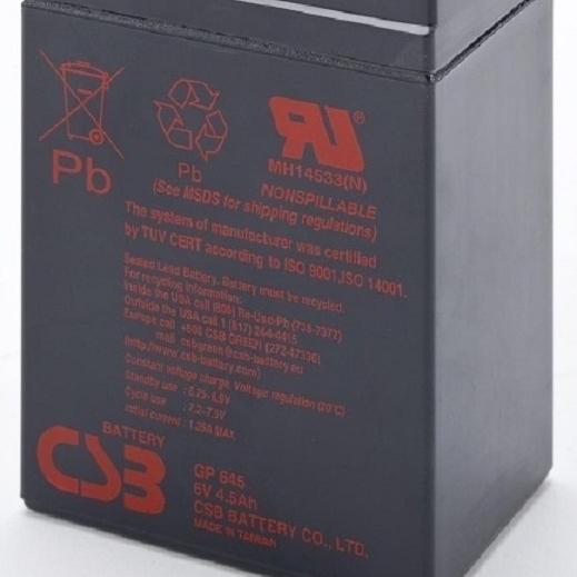 CSB蓄电池GP645选购