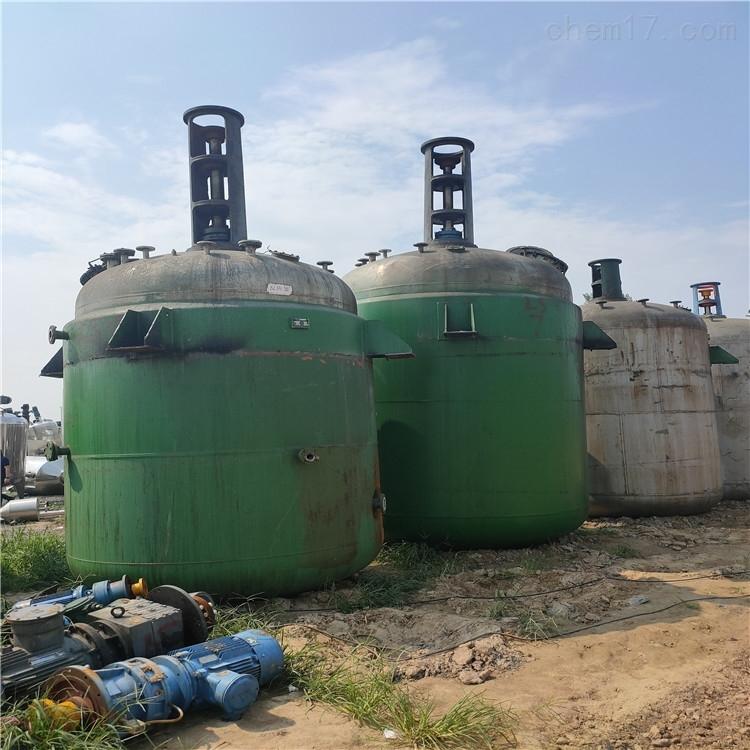 供应二手5吨不锈钢反应釜