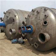 二手不锈钢外盘管搅拌反应釜316材质