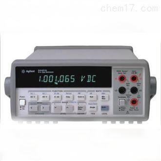 上海精修34410A台式萬用表