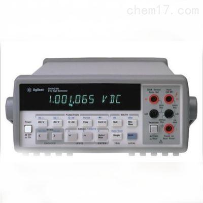 34401A杭州维修34401A台式万用表