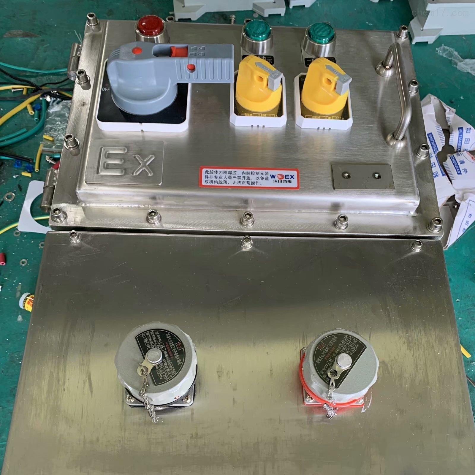BXC-3K100XX防爆檢修電源插座箱廠家