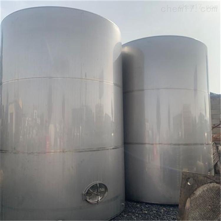 回收二手30方50方不锈钢葡萄酒储罐