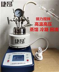 蒸餾冷凝回流磁力攪拌高溫高壓反應釜異型釜