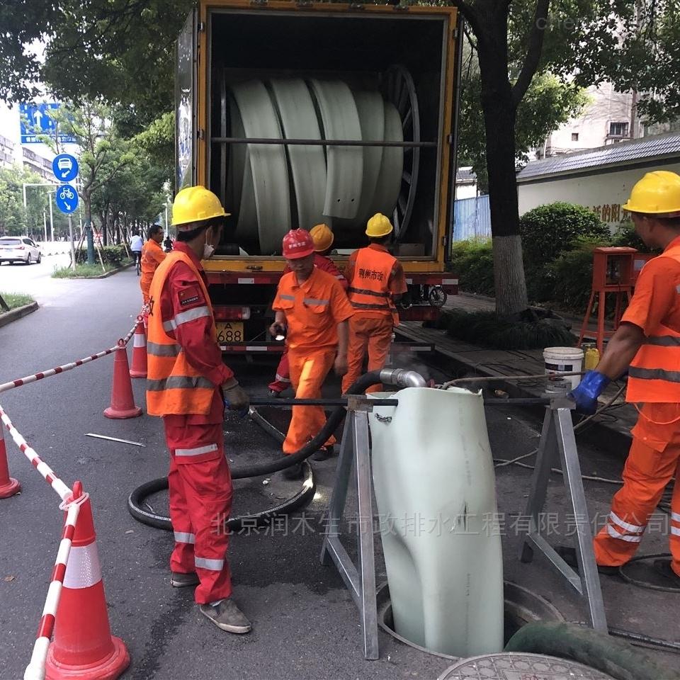 武汉专业管道清淤多少钱一米