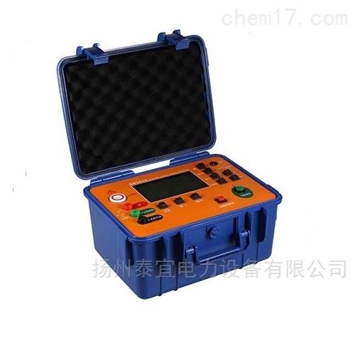 扬州泰宜智能绝缘电阻测试仪设备