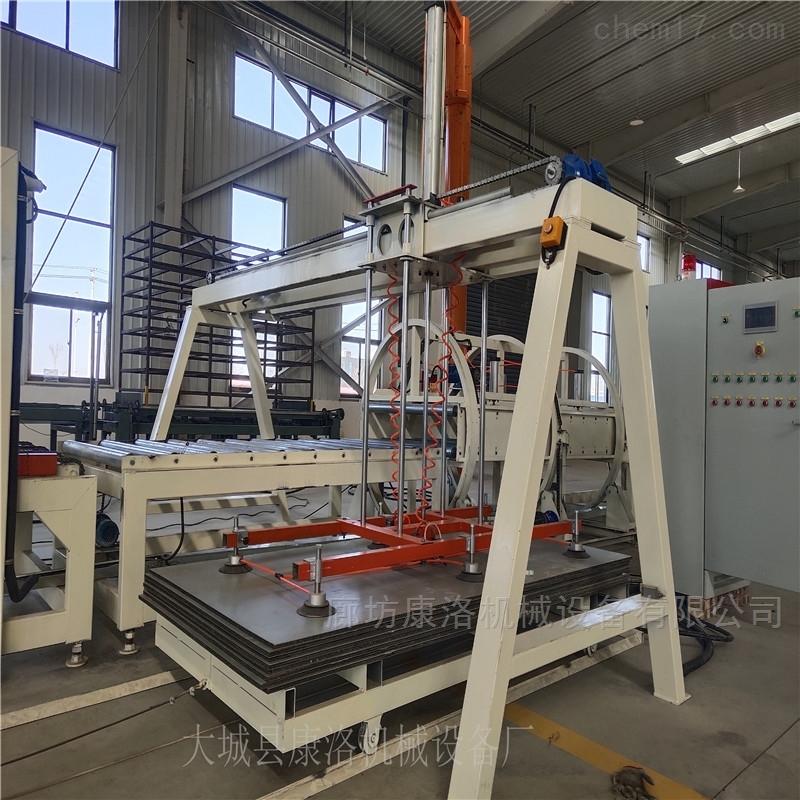 免拆模保温板生产设备高效生产
