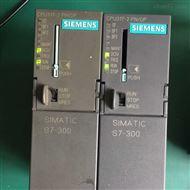 西门子300CPU处理器上电网口通讯坏维修中心