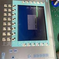 西门子操作面板不能进入系统程序界面维修
