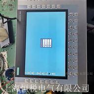 西门子操作面板开机运行一会黑屏不亮维修