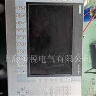 SIEMENS售后维修西门子操作面板上电显示白屏无文字解决方法