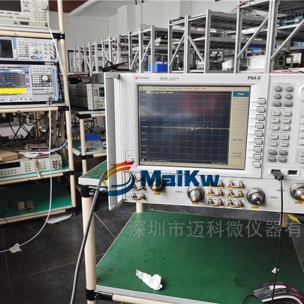 维修Keysight网络分析仪N5242A锁相错误失锁