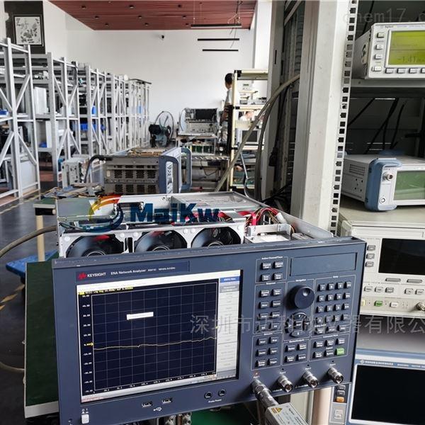 安捷伦网络分析仪E5071C测量传输不正常