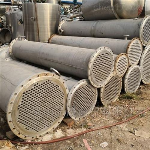 供应二手30平方不锈钢列管冷凝器