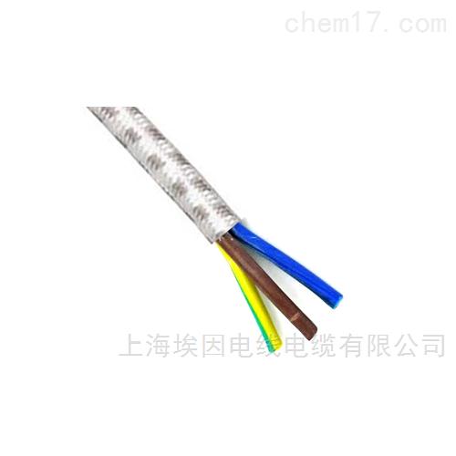 300/300V热固性橡胶绝缘纤维编织扁电缆