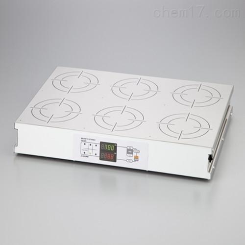 日本ASONE亚速旺磁力搅拌器SUS顶板HS-6DN