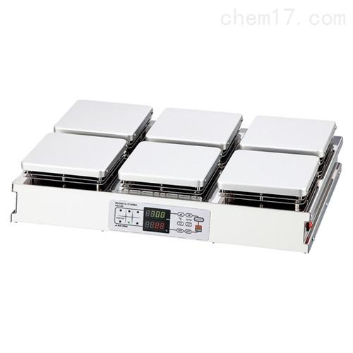日本进口ASONE亚速旺加热磁力搅拌机HSH-4A