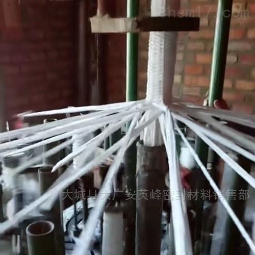 黑白四氟盘根 厂家  含油 四氟液盘根