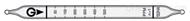 日本gastec 75叔丁硫醇气体检测管 测量范围15-30mg/m3 1-15mg/m3 0.5-