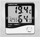 HTC-1经典黑色温湿度计  家用便携式温湿度计   仓储车间专用温湿度计