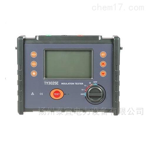 泰宜智能双显绝缘电阻测试仪