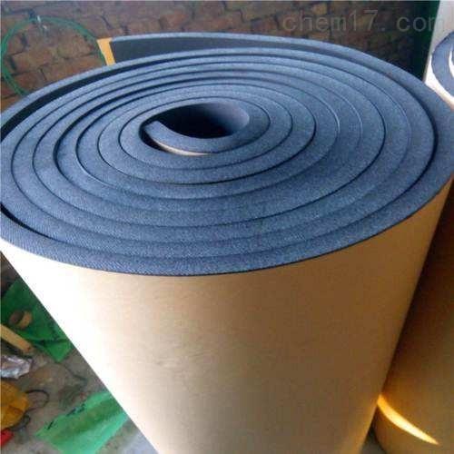 带背胶橡塑保温棉出厂价格