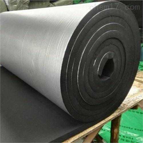 带铝箔橡塑海绵保温板一平米价格