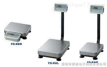 日本AND FG-150KBM电子台秤
