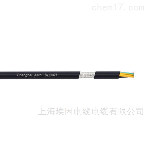美标UL2501聚氨酯护套耐高温105℃电缆